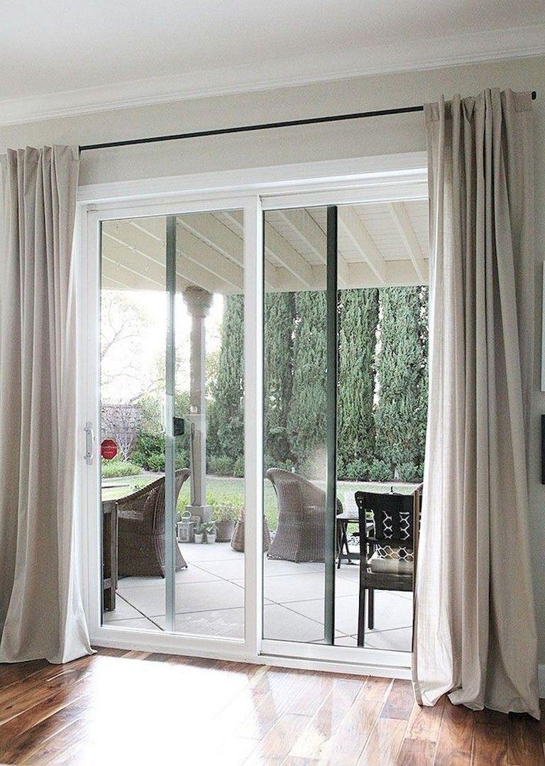 154 Amazing Decorative Glass Doors Ideas Decoratingideas Decoration Decoratingti Patio Door Coverings Sliding Glass Door Curtains Sliding Glass Door Window