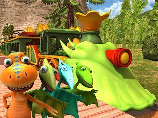 Blog de los nios Conoce los dinosaurios con el dinotren