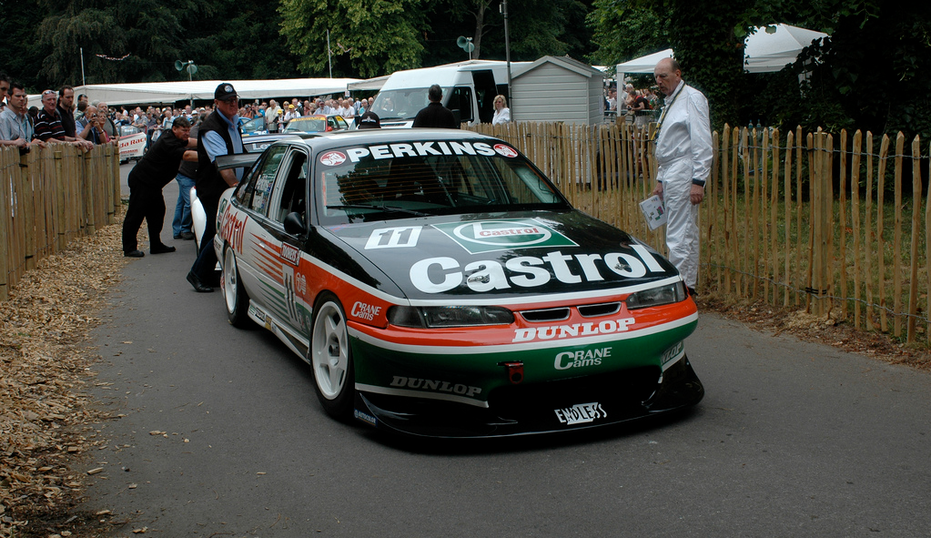 Larry Perkins Commodore At Goodwood Super Cars Touring V8 Supercars
