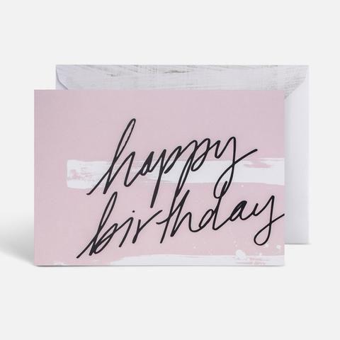 Blacklist | Birthday Pink & Black Foil Gift Card
