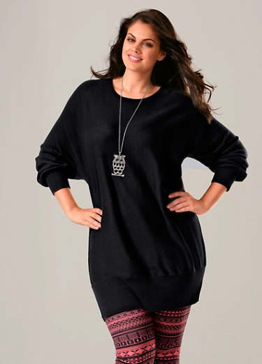 6d6bdba74b8 Fabulous oversized jumper dress with long bat sleeves