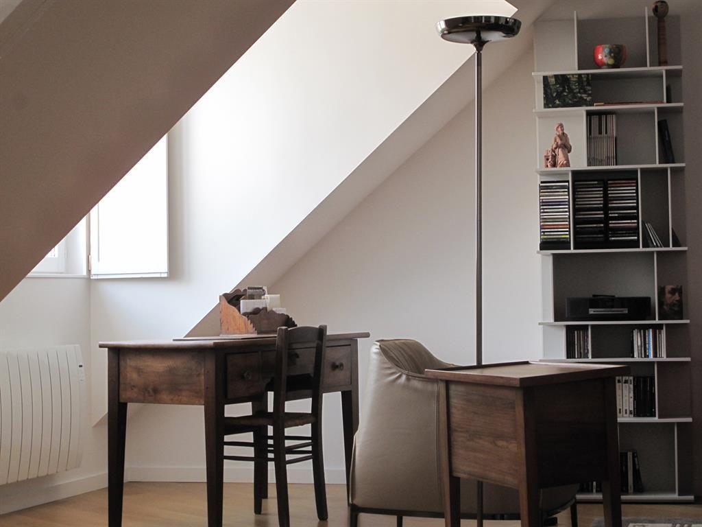 Renovation D Appartement Grenoble Domozoom Com Appartement Bureau Bibliotheque Petit Bureau