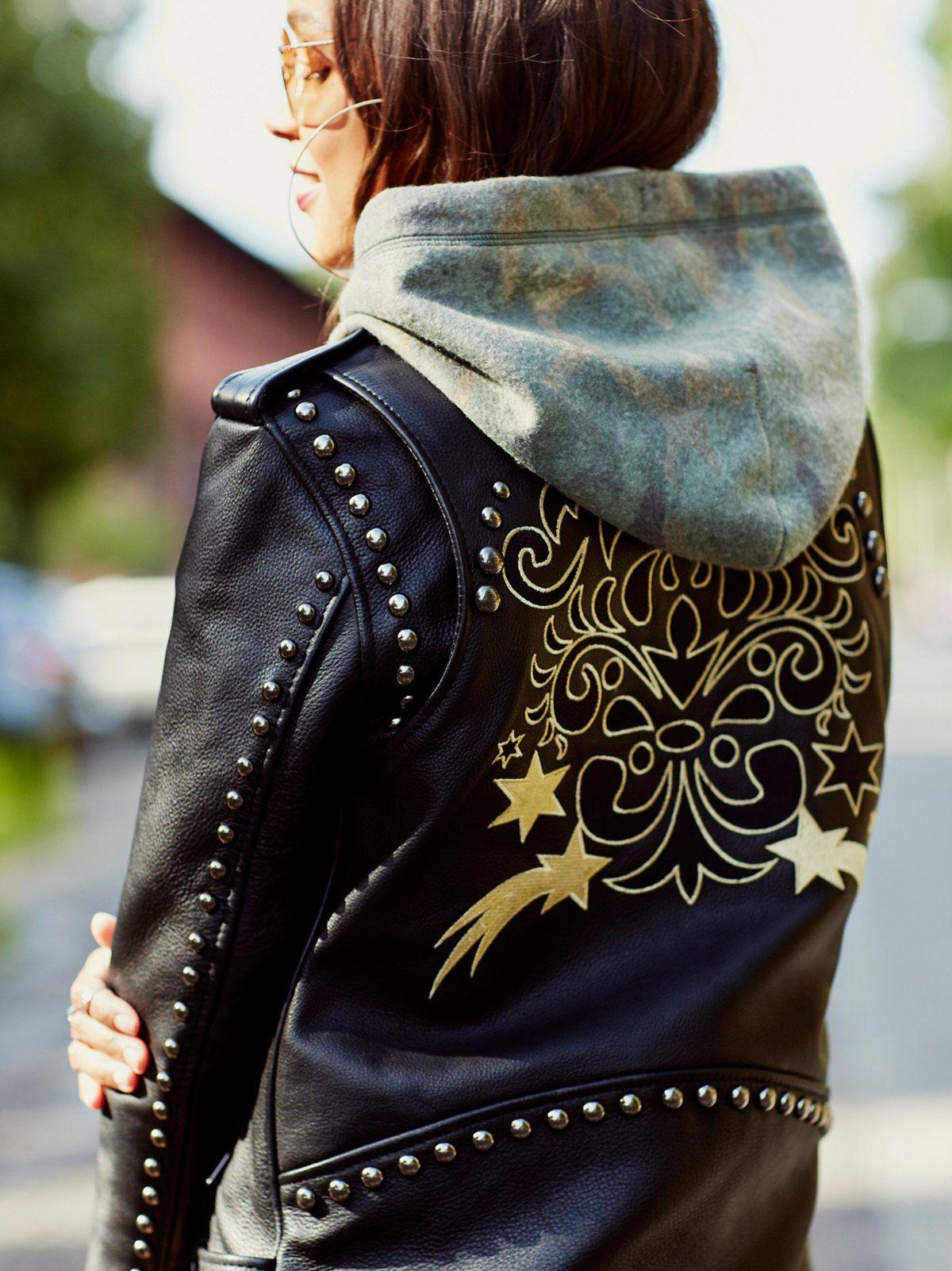 Gold Rush Biker Jacket Winter fashion outfits, Jackets