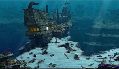 underwater adventure games like subnautica just like its name the
