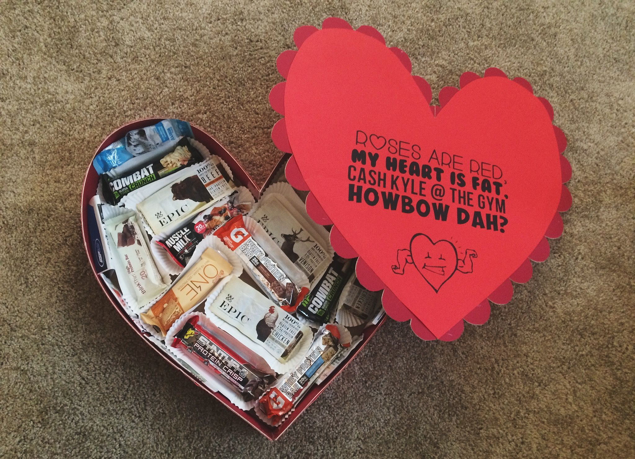 Protein Valentine Gift