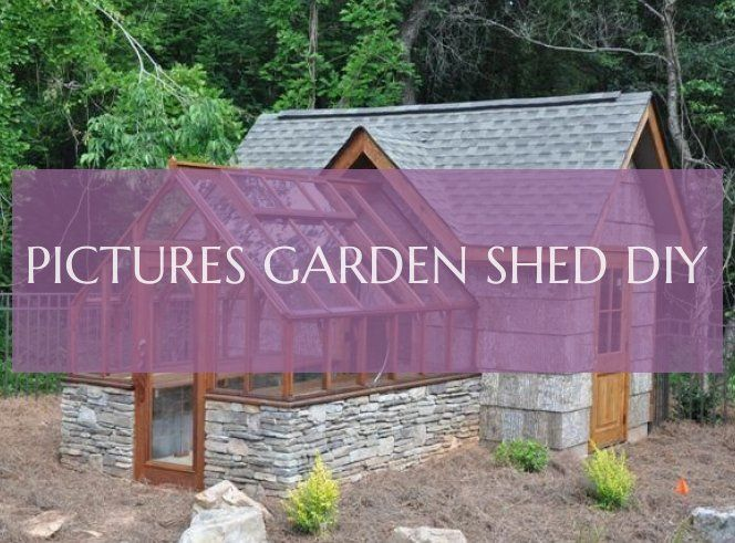 Pictures garden shed diy