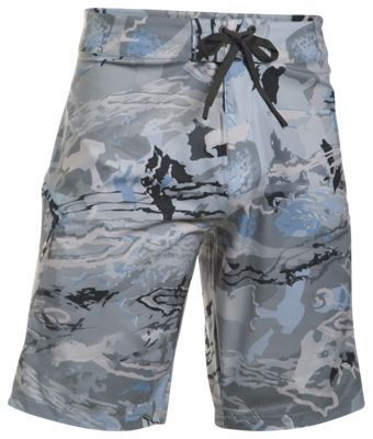 389e8daaeaf Under Armour Stretch Printed Surf Shorts for Men - Ridge Reaper Camo  Hydro/Stealth Gray - 42