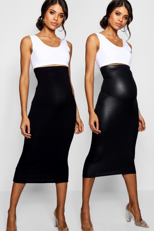 Mama.licious   Mamalicious Striped Maxi Tube Skirt