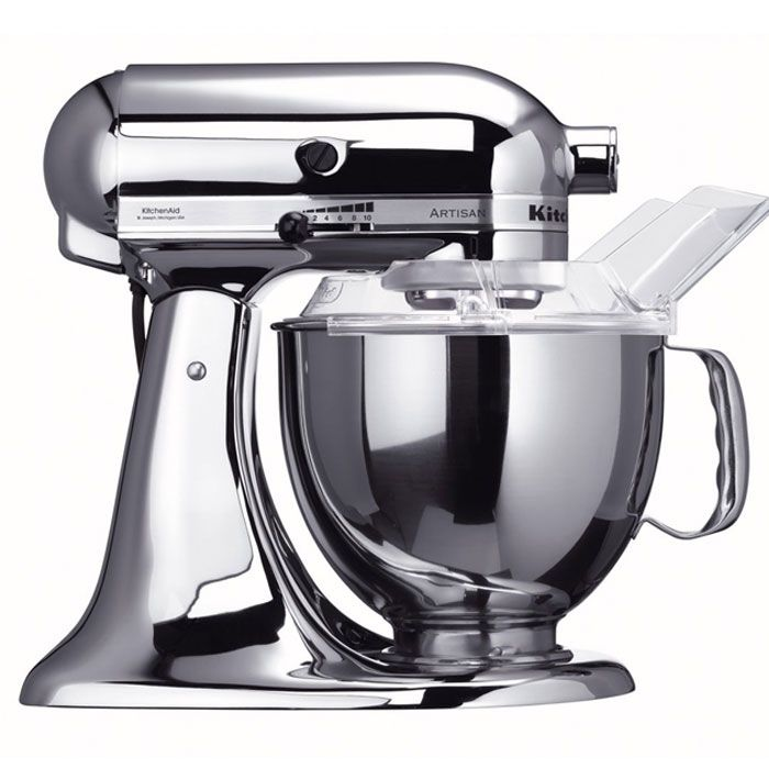 KitchenAid Robot da cucina Artisan - Cromato | KITCHENAID ...