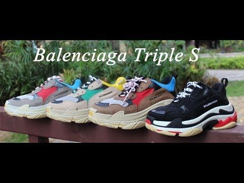 Balenciaga Triple S Sneaker On Feet Review - gogoyeezy.me  b8e201305