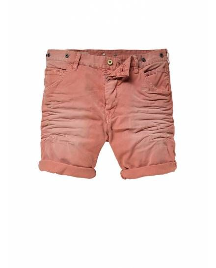 Brewer Shorts - Anti-fit - Garment Dyed - Shorts - Official Scotch & Soda Online Fashion & Apparel Shops