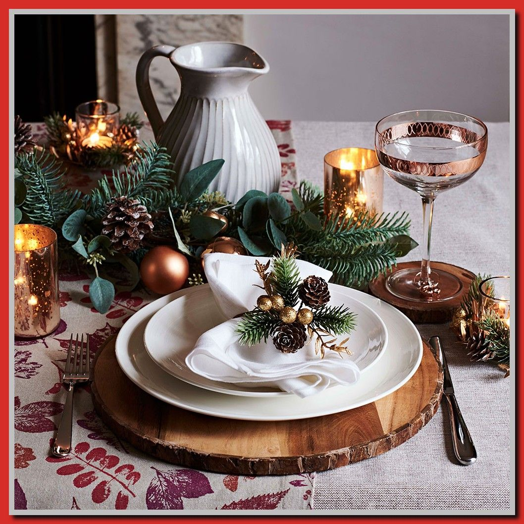 Seven Gorgeous Christmas Tablescape Ideas Christmas Table