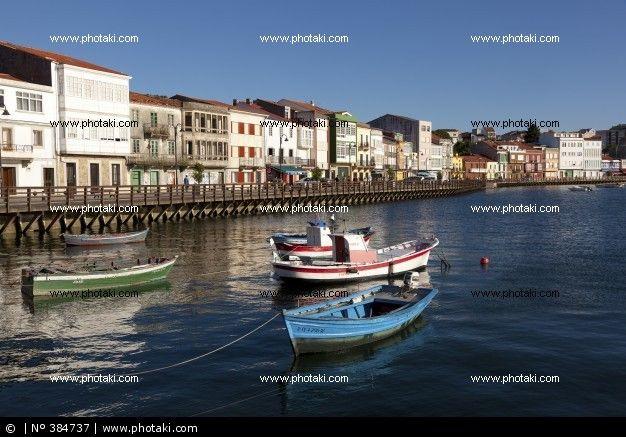 Port of mugardos, A Coruña, Galicia, España.
