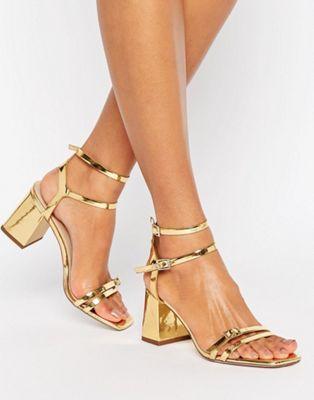 ASOS HAMMER Mid Block Heels | Sandals