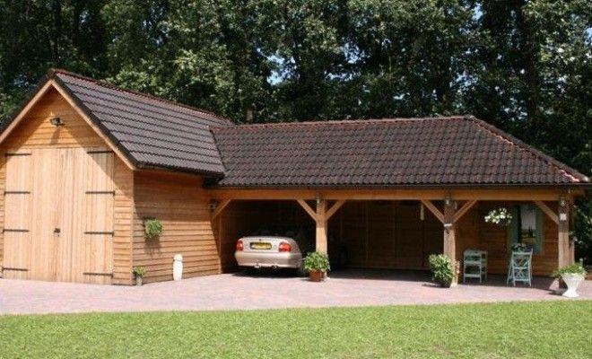 Garage Met Veranda : Stolpschuur met veranda garten carport sheds garages und barn