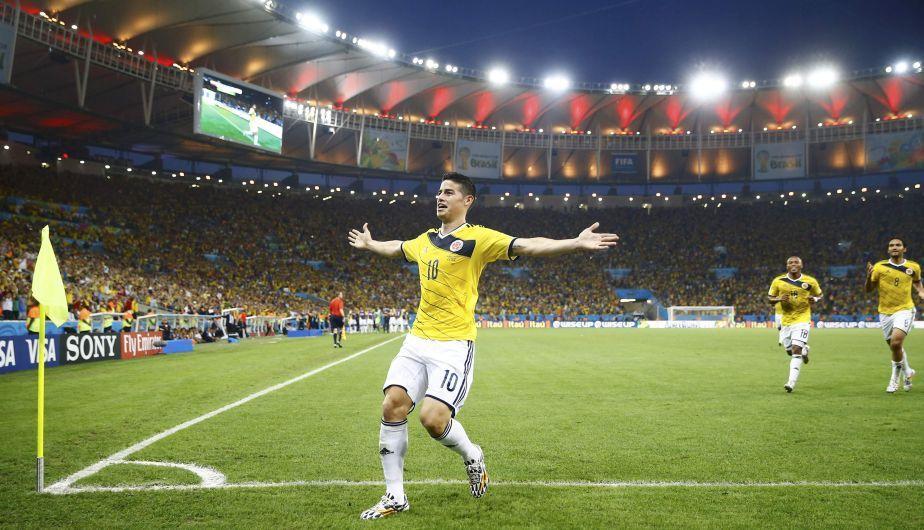Copa del Mundo 2014: Colombia venció 2-0 a Uruguay gracias a James Rodríguez http://peru21.pe/deportes/copa-mundo-2014-uruguay-y-colombia-van-pase-cuartos-final-2189639