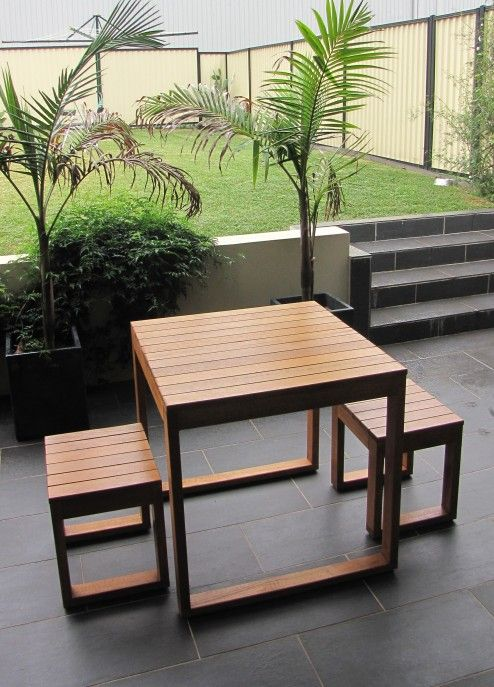 Furniture Interesting 2 Seater Outdoor Wooden Dining Table With 2 Small Bench Design Idea Suitable Dining Table Setting 2 Seater Dining Table Furniture Decor