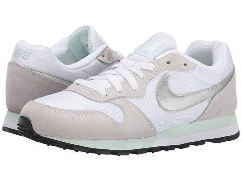 Womens Shoes Nike MD Runner 2 White/Fiberglass/Pure Platinum/Metallic Silver