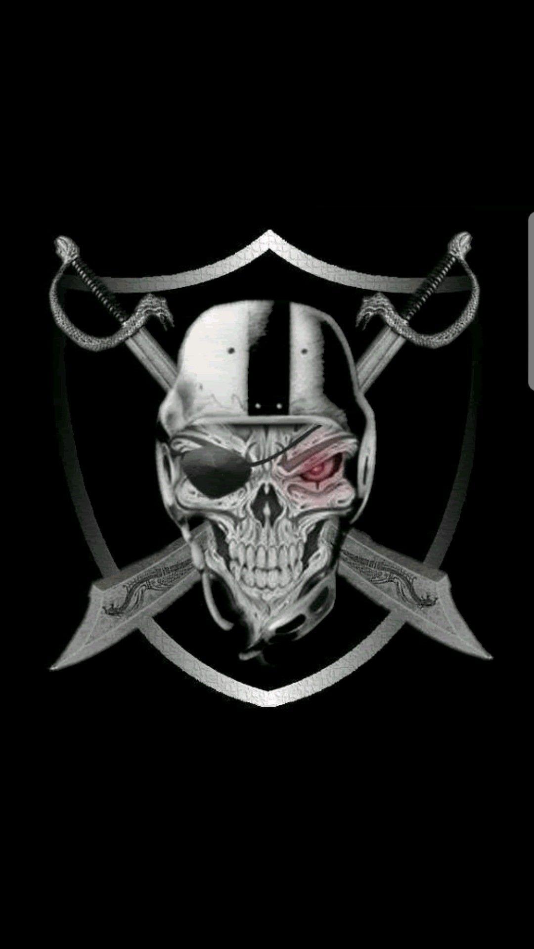 Oakland Raiders Phone Wallpaper In 2020 Raiders Wallpaper Raiders Tattoos Oakland Raiders Logo