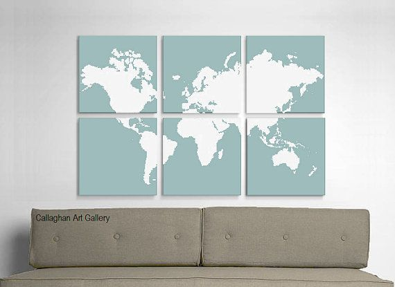 World map 6 12x12 prints possibility for my six white ikea frames world map 6 12x12 prints possibility for my six white ikea frames gumiabroncs Image collections