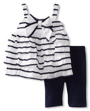 Amazon.com: Kate Mack Baby-Girls Infant Seaside Petals Tunic: Clothing