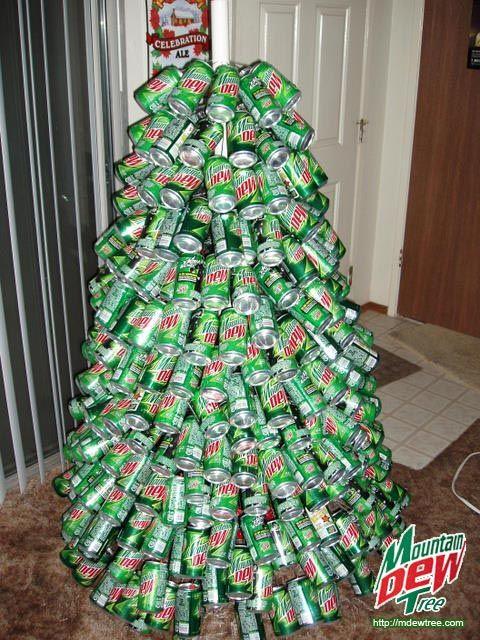 Mountain Dew Christmas Tree - Mountain Dew Christmas Tree Christmas Trees Pinterest