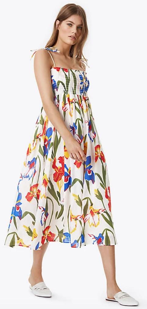 c4bf7b1ee476 Tory Burch Convertible Iris Beach Dress