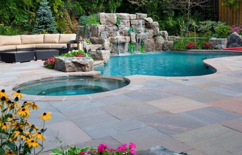 Jacuzzi ext rieur id es pour cr er votre oasis dans le jardin jacuzzi ext rieur id es pour for Exterieur piscine jardin