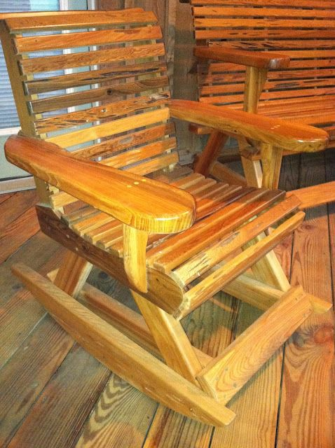 Genial Cutest Front Porch Cypress Rocking Chairs!   Sweet Tea Furniture U0026 Events