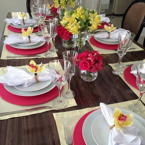 Pin by Andiani M Salib on Table setting | Pinterest | Table settings ...