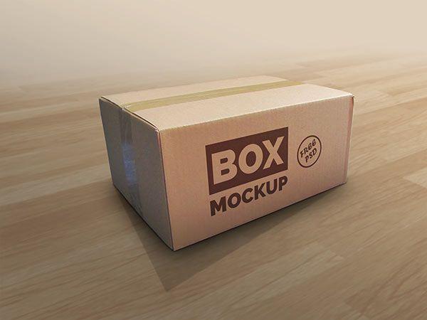 Download Box MockUp Free PSD