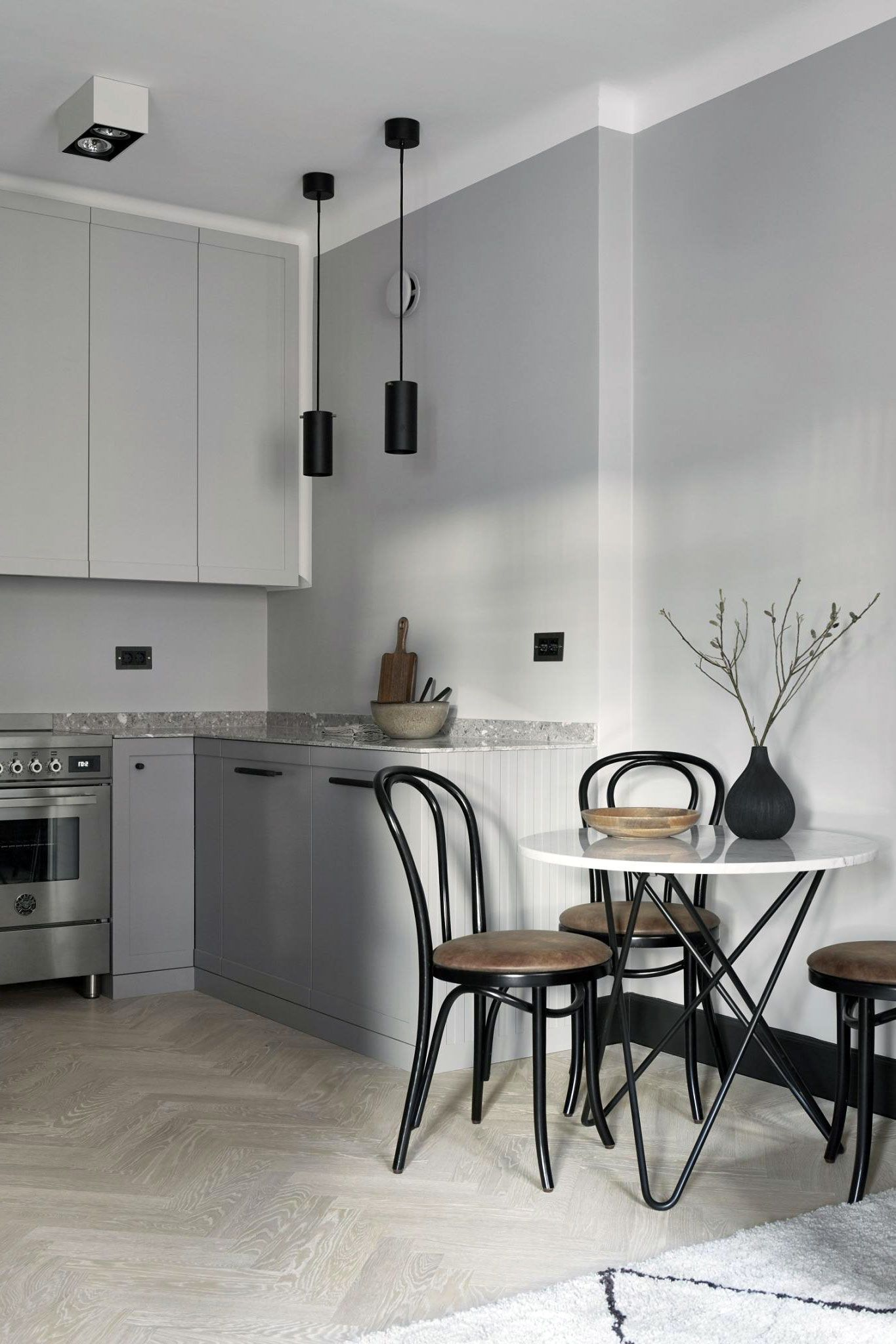 26 Gorgeous Scandinavian Kitchen With Grey Color Ideas In 2020 Scandinavian Kitchen Design Scandinavian Kitchen Kitchen Design Decor