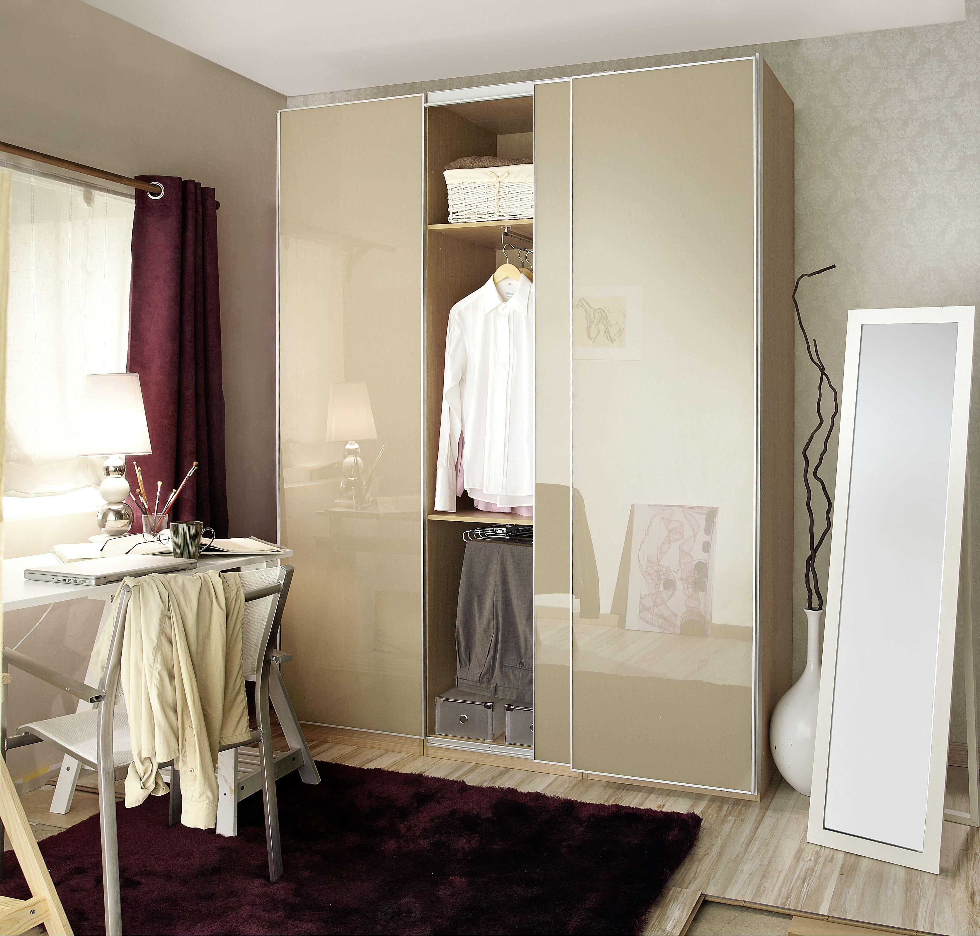 Puertas correderas para ganar espacio leroy merlin organiza tu espacio pinterest - Leroy merlin puertas correderas cristal ...