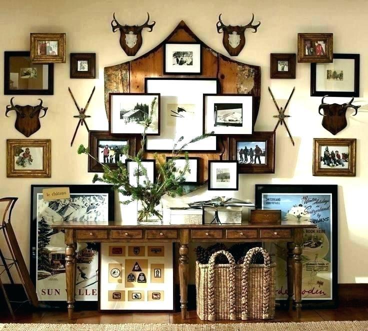 Lodge Decor Lodge Decor Ski Lodge Decor Wood Gallery Frames