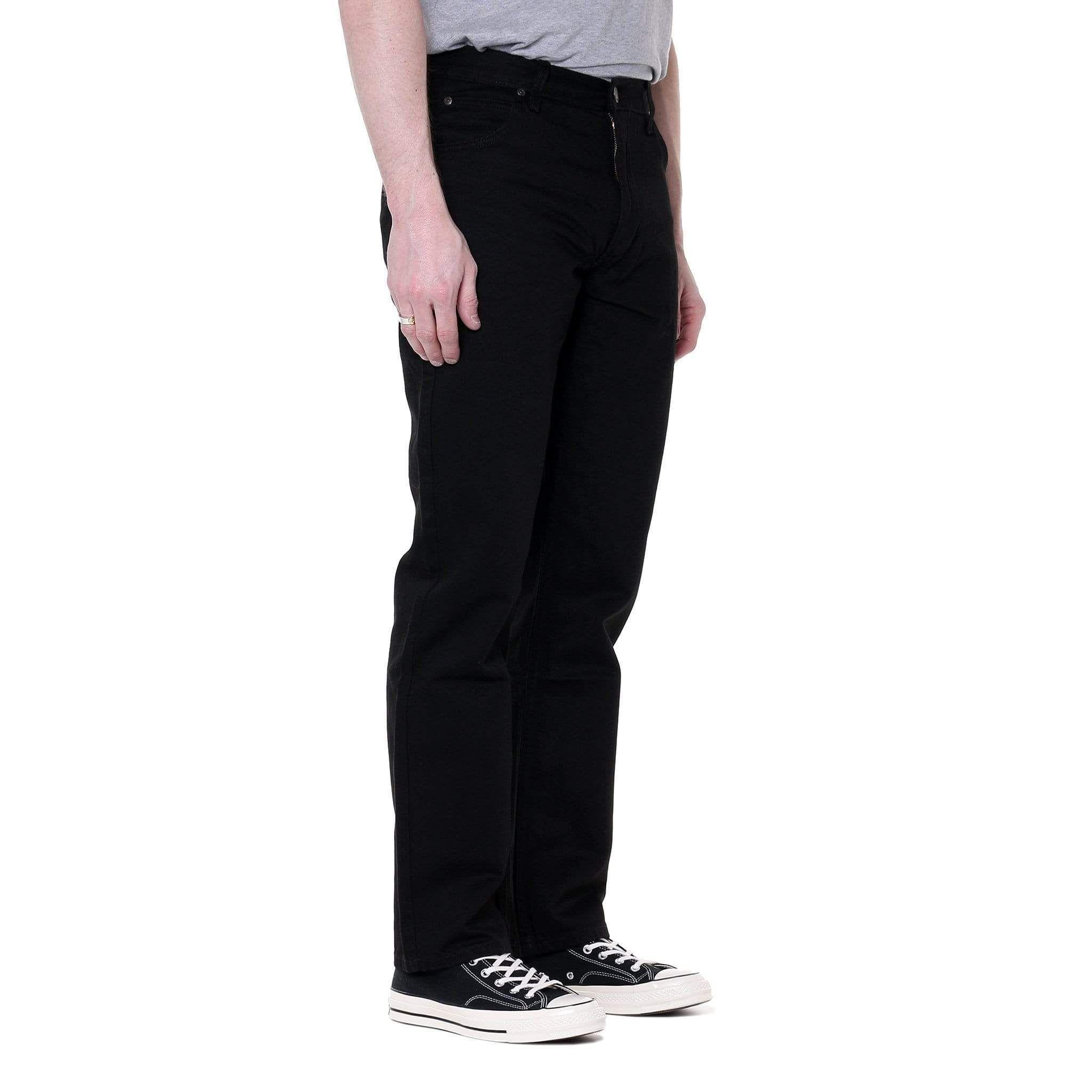 Lee Brooklyn Comfort Regular Fit Mens Jeans Black Rinse
