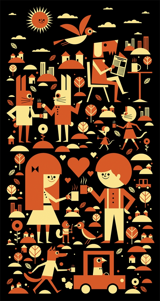 http://ben-newman-illustration.tumblr.com/post/37414974907/1kg-coffee-bag-label-design-for-clifton-coffee