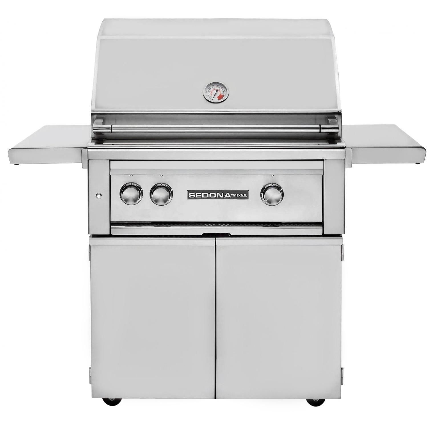 Lynx Sedona 30 Inch Propane Gas Grill With One Infrared