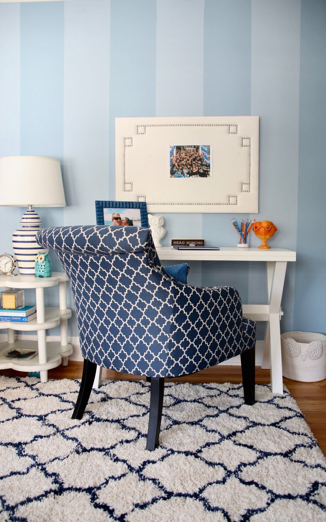 The Jasmina Accent Chair Is The Perfect Piece For Your Living Room,  Entryway Or Any Other Space. Its Bold Lattice Pattern Creates A Chic Look,  ...