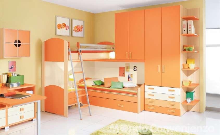 Colori camera da letto bambini - Pareti senape | habitaciones niños ...