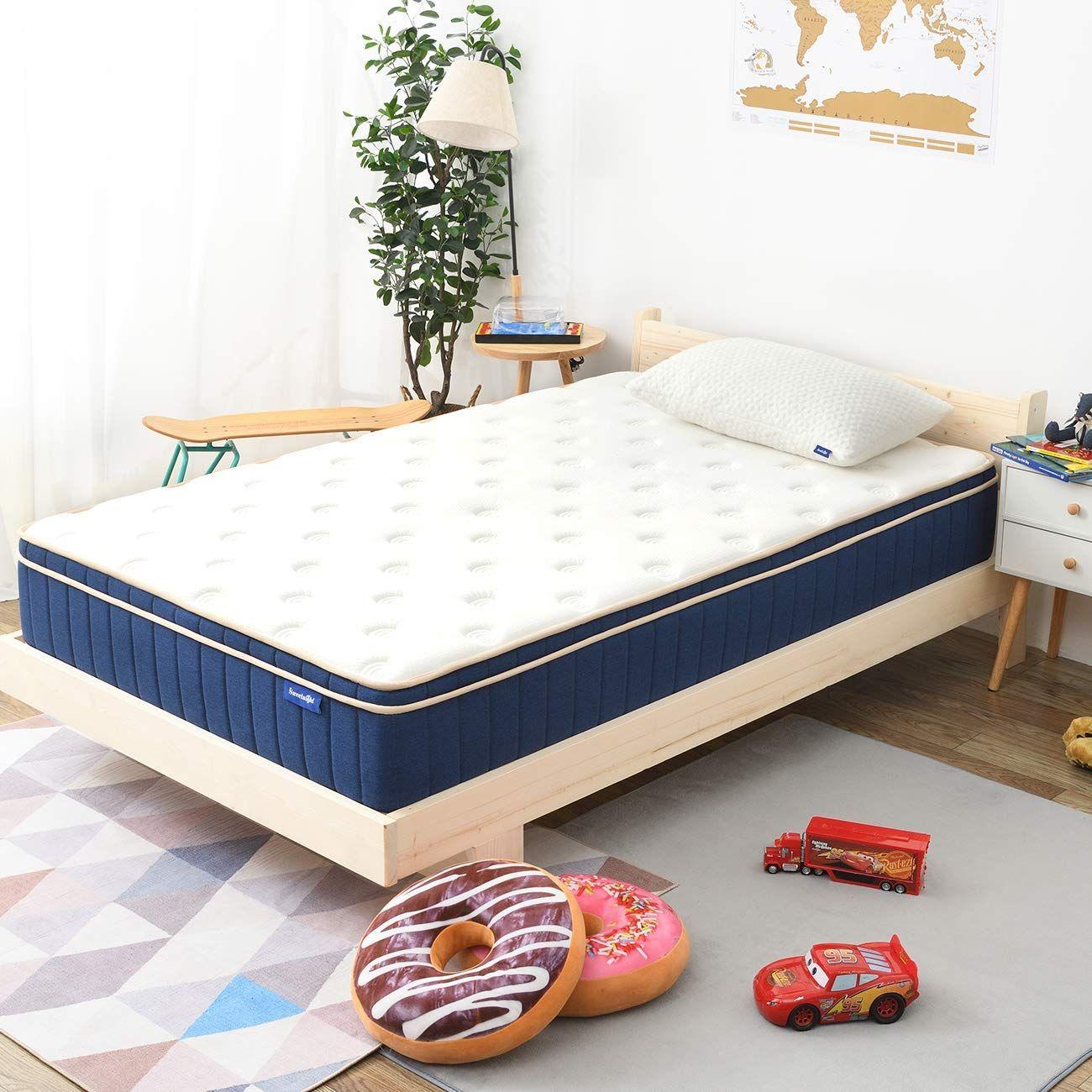 Twin Mattress Sweetnight Twin Size Gel Memory Foam Hybrid