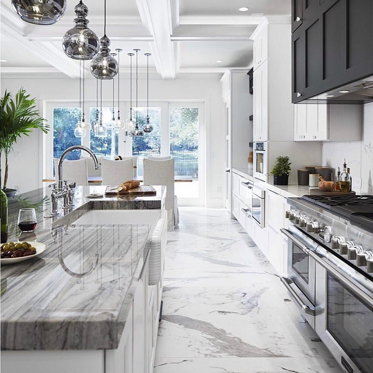 Kitchen goals Swipe to see my dream bathroom and follow me on ...