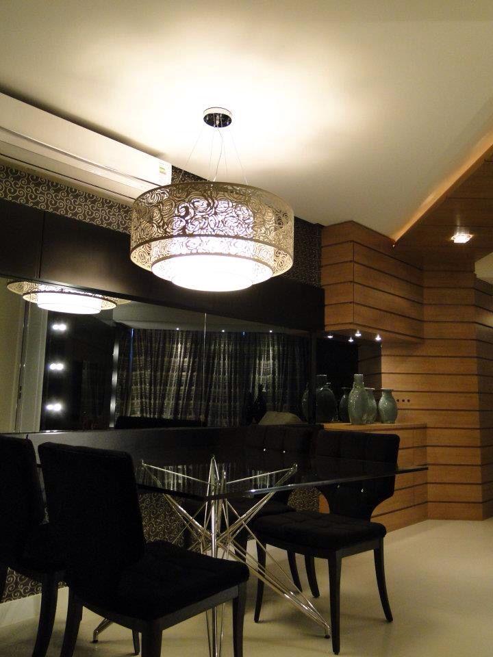 Sala de Jantar, apartamento decorado @in.volve