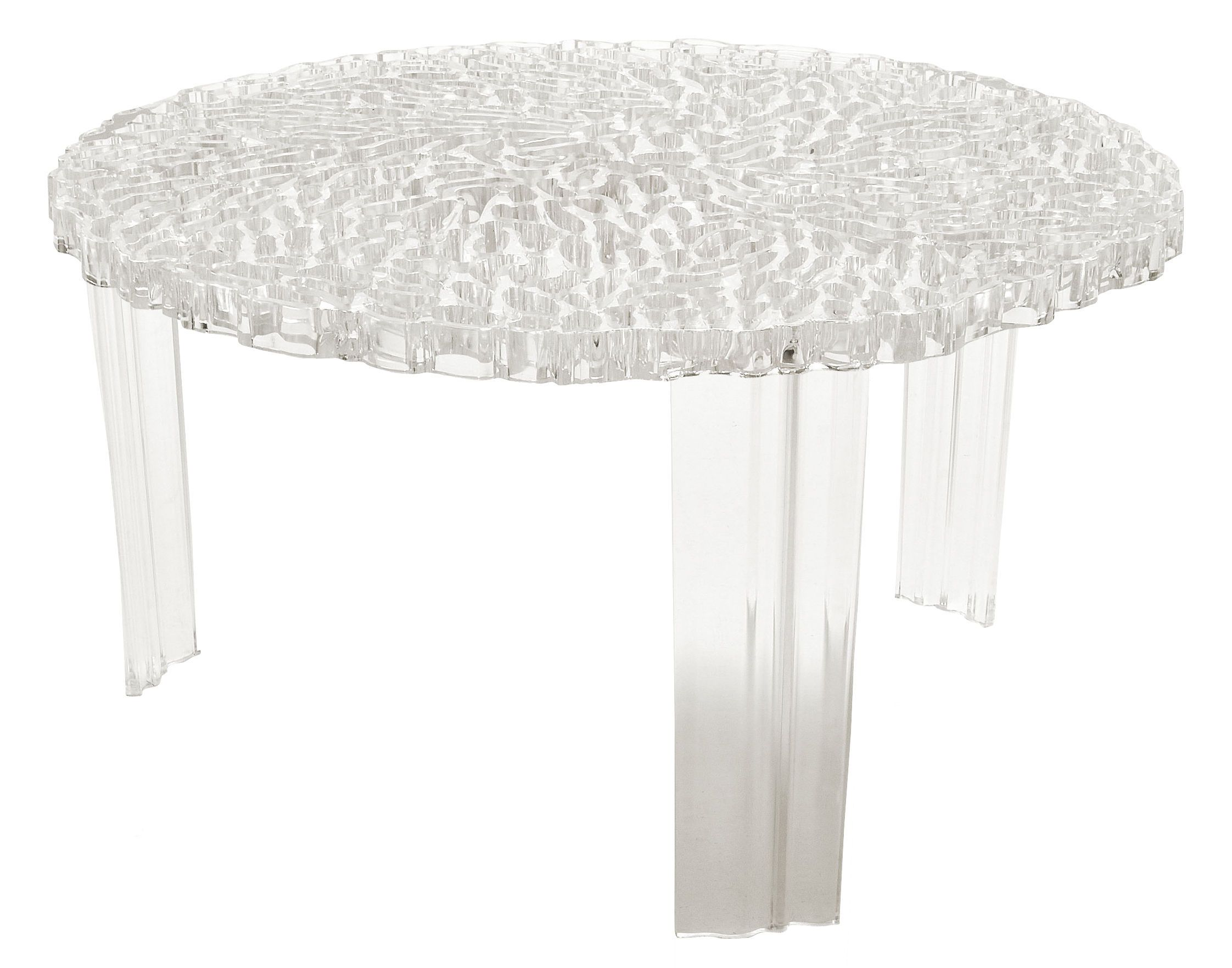 T Table Basso Coffee Table H 28 Cm By Kartell Tables Table