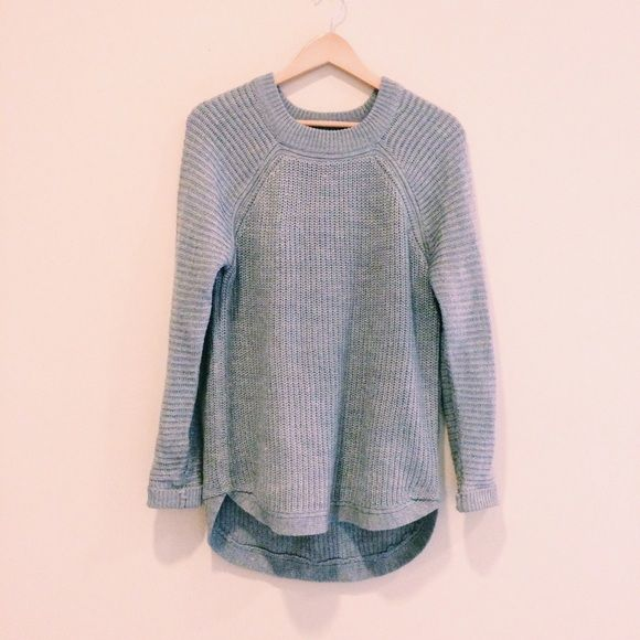 Comfy oversized Sweater // Light gray | 72% ACR 28% COT. Like new RDI Sweaters Crew & Scoop Necks