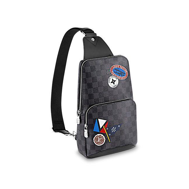2e078b99227e Avenue Sling Bag Damier Graphite in Men s Men s Bags collections by Louis  Vuitton