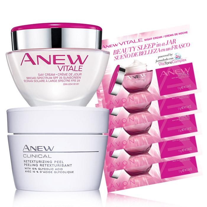 The ANEW Skin Care Solution Trio is a easy-to-use skin care solution! A $52 value, for WOW $35 shop online today with me for all your skin care needs at: www.youravon.com/my1724 don't forget to use coupon code: WELCOME for 20% off and FREE shipping #AVON #ANEW #SALE #SKINCARE #SAMPLES #VITALE