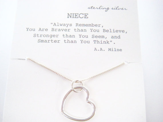 Gift For Your Niece Graduation Birthday Necklace Eternit