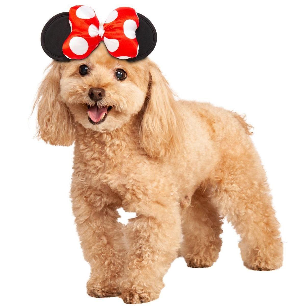 Disney Minnie Mouse Headpiece Dog Costume By Rubies Pet