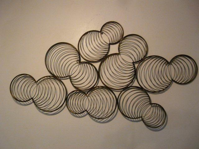 """Fourteen Bubbles"" - Contemporary Metal artwork"