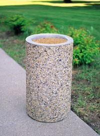 Concrete Outdoor Ashtray Outdoor Ashtray Outdoor Trash Cans